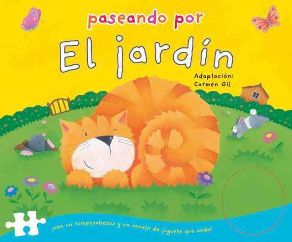 PASEANDO POR EL JARDIN