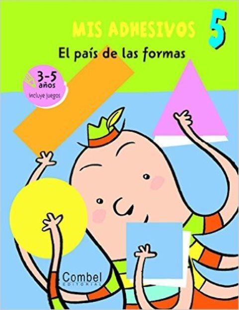 MIS ADHESIVOS 5 . EL PAIS DE LAS FORMAS