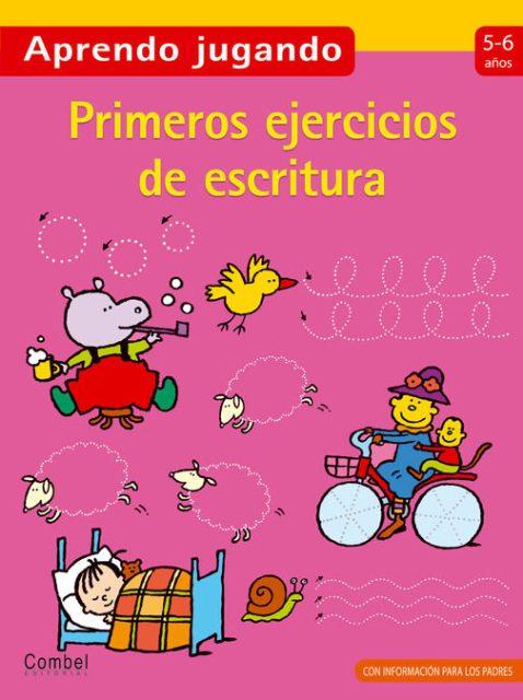 APRENDO JUGANDO 5-6 AÑOS . PRIMEROS EJERCICIOS DE ESCRITURA