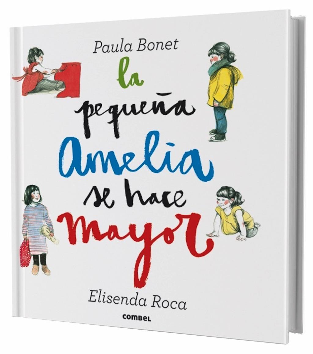 LA PEQUEÑA AMELIA SE HACE MAYOR . POP-UP