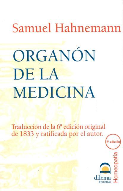 ORGANON DE LA MEDICINA