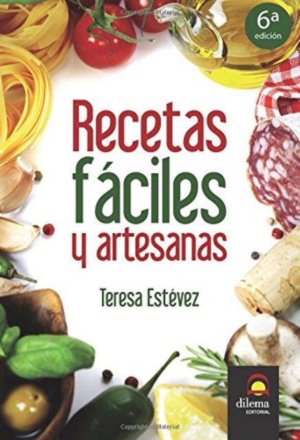RECETAS FACILES Y ARTESANAS T.1