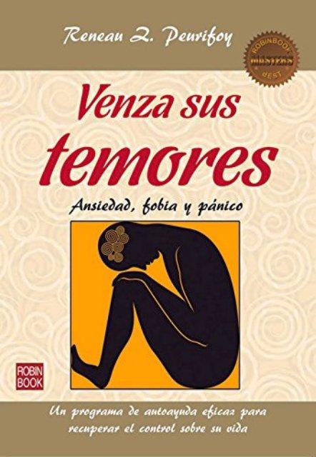VENZA SUS TEMORES (MASTERS). ANSIEDAD, FOBIA Y PANICO