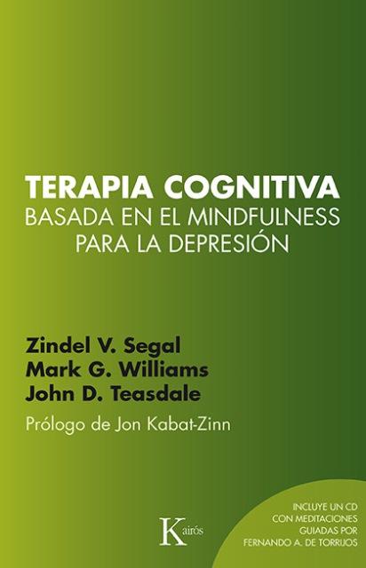 TERAPIA COGNITIVA - BASADA EN EL MINDFULNESS PARA LA DEPRESION C/CD