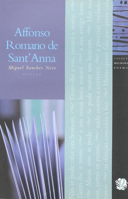 MELHORES POEMAS AFFONSO ROMANO DE SANT`ANNA