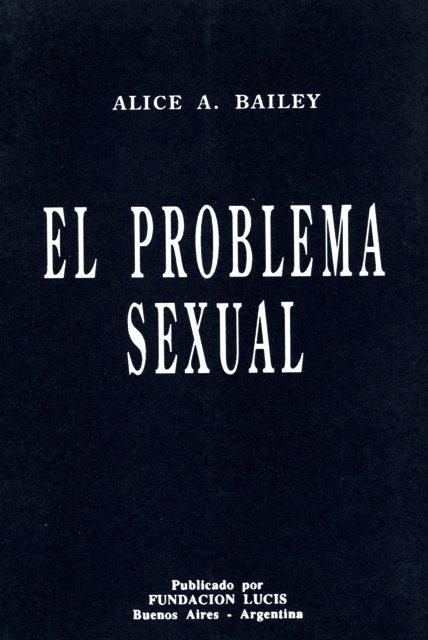 EL PROBLEMA SEXUAL