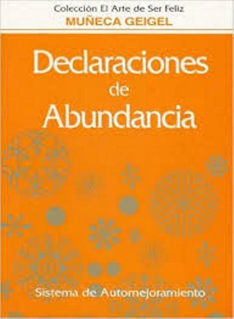 DECLARACIONES DE ABUNDANCIA