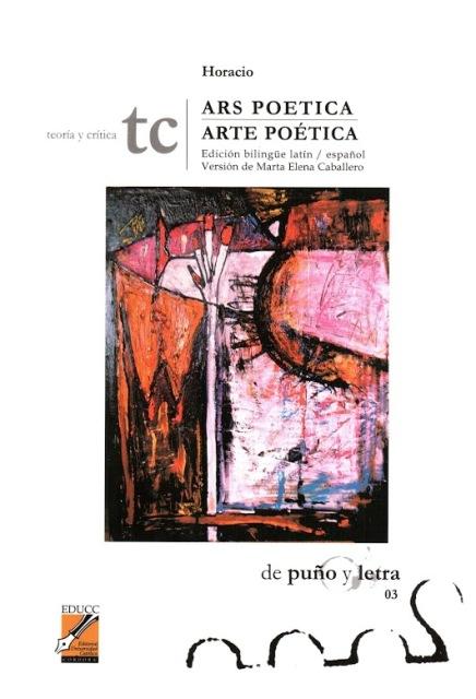 ARS POETICA / ARTE POETICA . ED.BILINGUE LATIN-ESPAÑOL