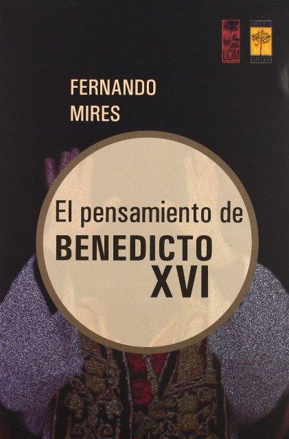 EL PENSAMIENTO DE BENEDICTO XVI