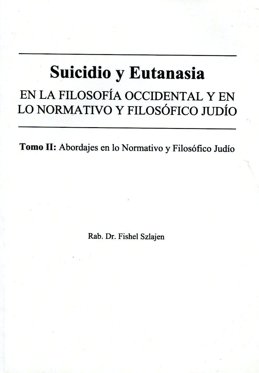 SUICIDIO Y EUTANASIA - T.2