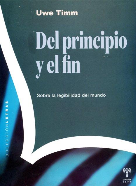 DEL PRINCIPIO Y EL FIN