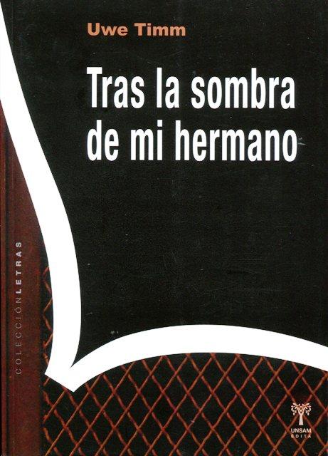 TRAS LA SOMBRA DE MI HERMANO