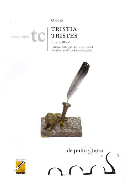 TRISTIA /TRISTES - LIBROS III-V - ED.BILINGUE LATIN-ESPAÑOL