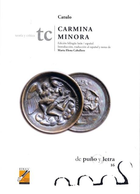 CARMINA MINORA ED.BILINGUE LATIN-ESPAÑOL