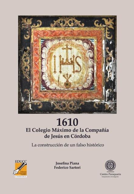EL COLEGIO MAXIMO DE LA COMPANIA DE JESUS EN CORDOBA . 1610