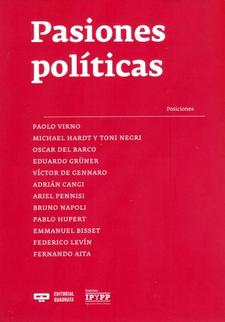 PASIONES POLITICAS