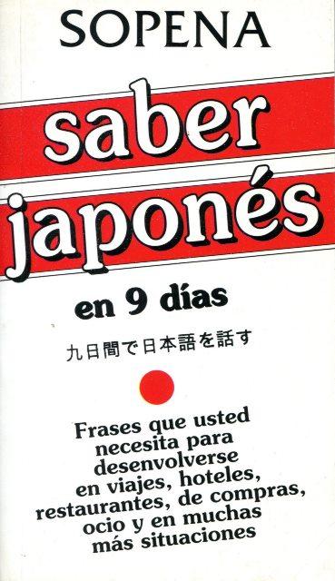 SABER JAPONES EN 9 DIAS