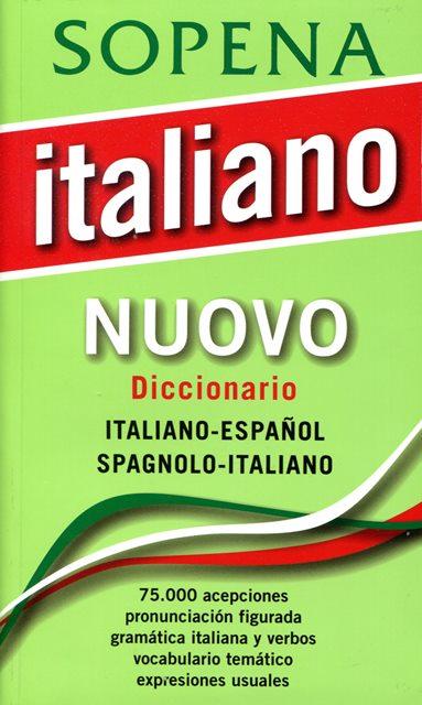 ITALIANO NUOVO DICCIONARIO ITALIANO - ESPAÑOL SPAGNOLO - ITALIANO