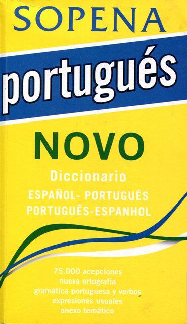PORTUGUES NOVO DICCIONARIO ESPAÑOL - PORTUGUES PORTUGUES - ESPAÑOL