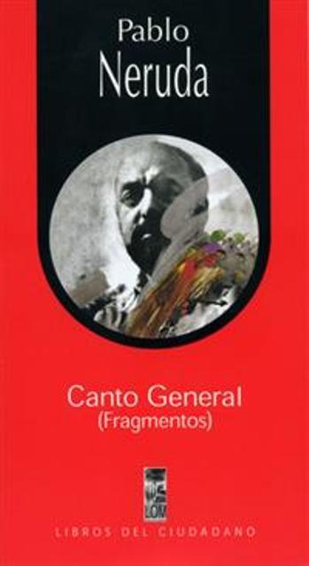 CANTO GENERAL (FRAGMENTOS)