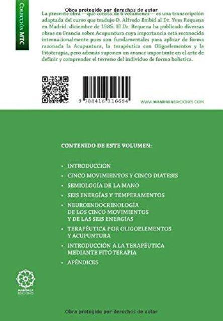 ACUPUNTURA , OLIGOTERAPIA Y FITOTERAPIA . CURSO DE PERFECCIONAMIENTO
