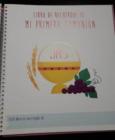 MI PRIMERA COMUNION - NIÑA