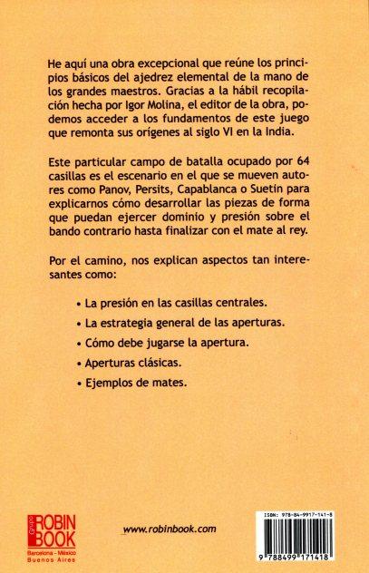 AJEDREZ ELEMENTAL . PARA PRINCIPIANTES POR LOS GRANDES MAESTROS