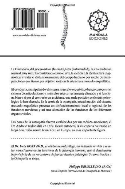 BASES FISIOLOGICAS DE LA OSTEOPATIA
