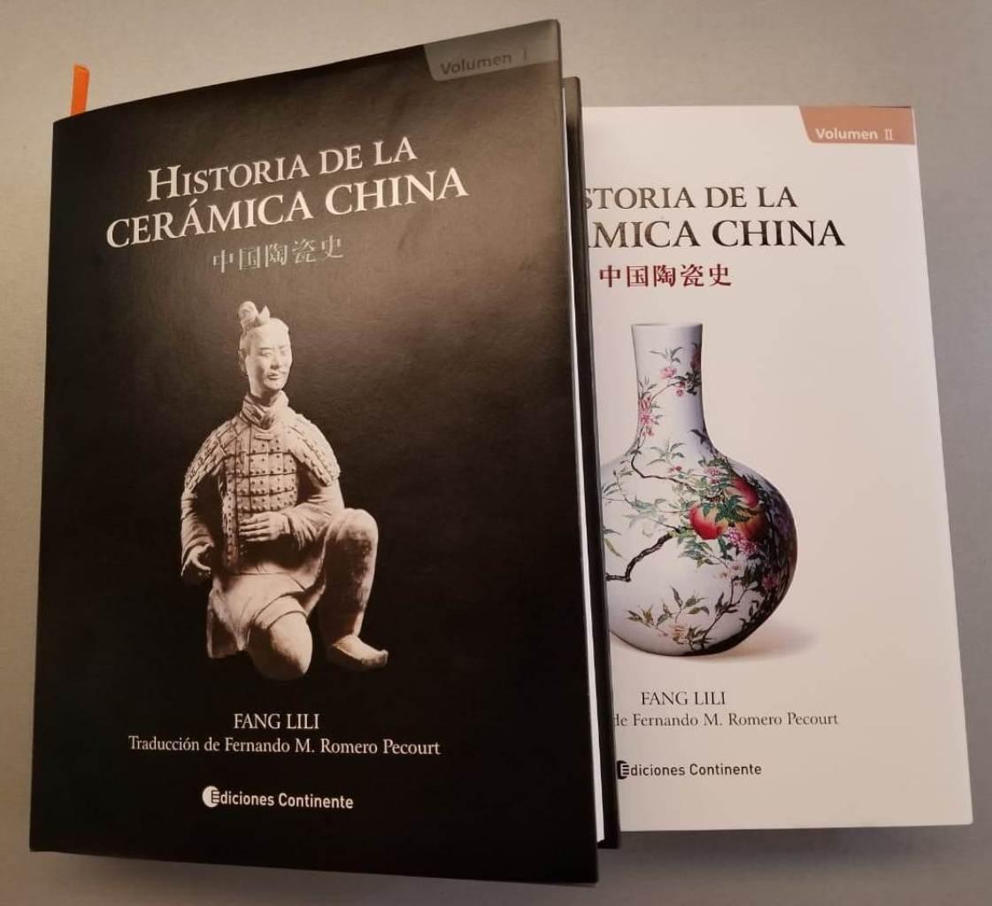 HISTORIA DE LA CERAMICA CHINA (2 TOMOS)