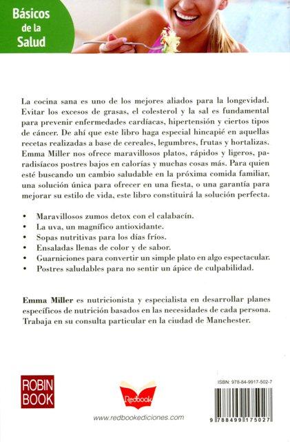 COCINA SANA . BASICOS DE LA SALUD