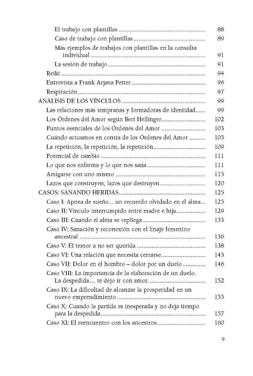 CONSTELACIONES FAMILIARES . ACUERDOS QUE SANAN