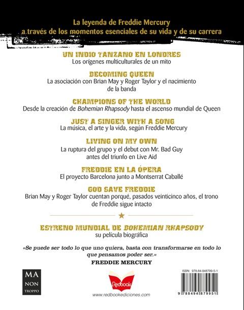 FREDDIE MERCURY . LA HISTORIA DEL GRAN MITO DEL ROCK