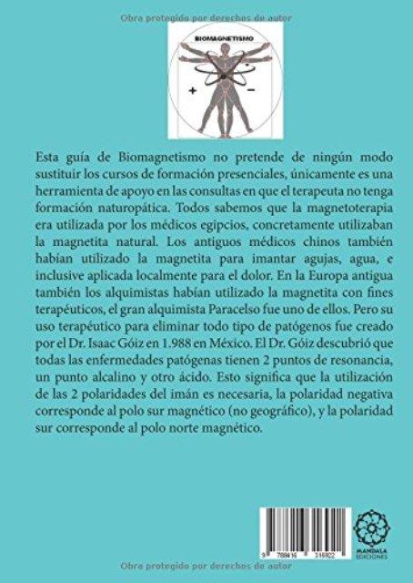 GUIA DE BIOMAGNETISMO PARA TERAPEUTAS