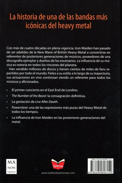 IRON MAIDEN . VIDA, CANCIONES, SIMBOLOGIA, CONCIERTOS CLAVE Y DISCOGRAFIA