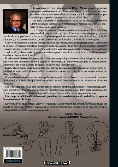 METODO MAIGNE . MEDICINA ORTOPEDICA MANUAL .DOLOR DE ORIGEN VERTEBRAL