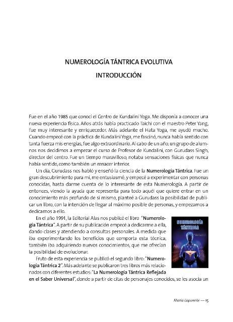 NUMEROLOGIA TANTRICA EVOLUTIVA