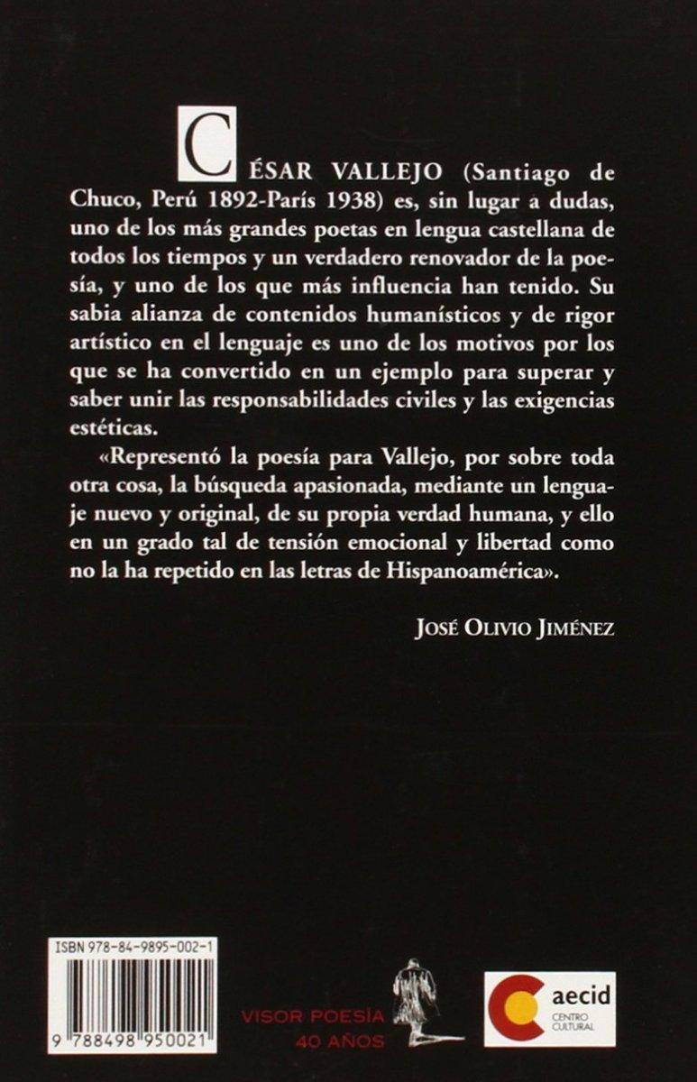 POESIAS COMPLETAS . CESAR VALLEJO