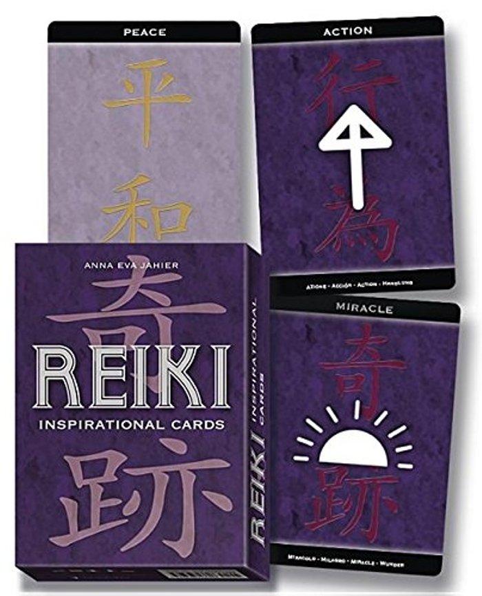 REIKI INSPIRATIONAL CARDS. LIBRO + 22 CARTAS