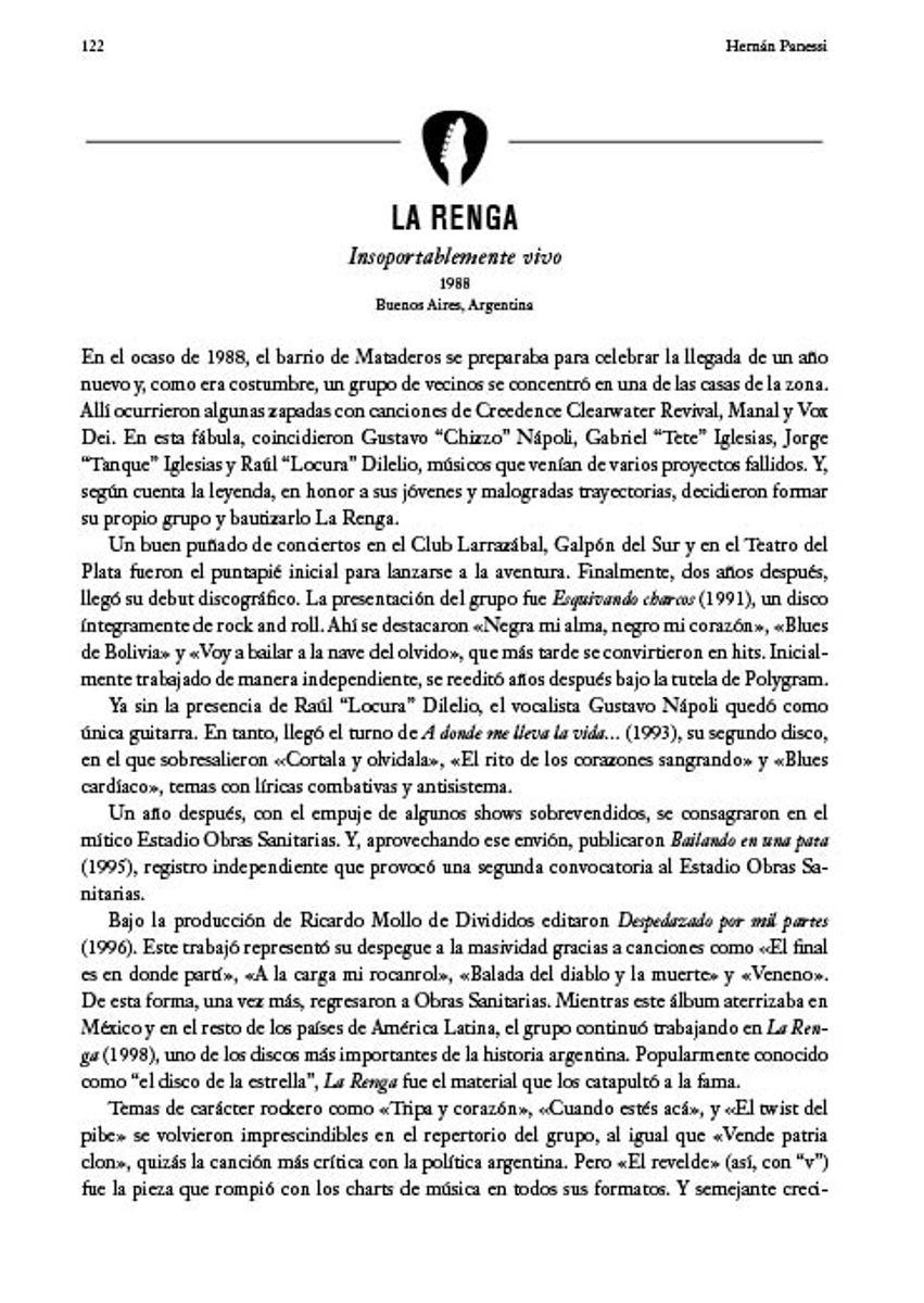 ROCK EN ESPAÑOL . LA GUIA DEFINITIVA : UN MAPA FRENETICO Y LAS BANDAS FUNDAMENTALES