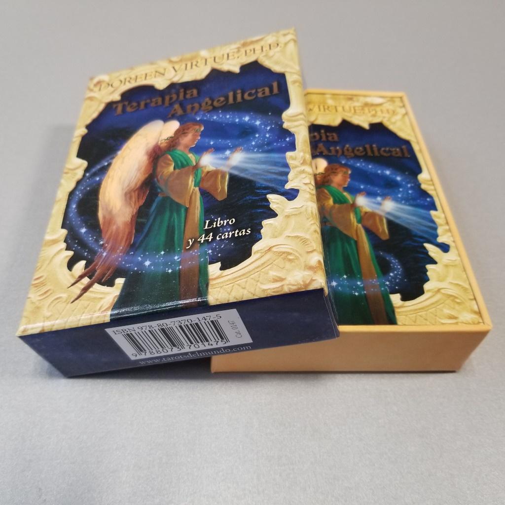TERAPIA ANGELICAL - LIBRO Y 44 CARTAS