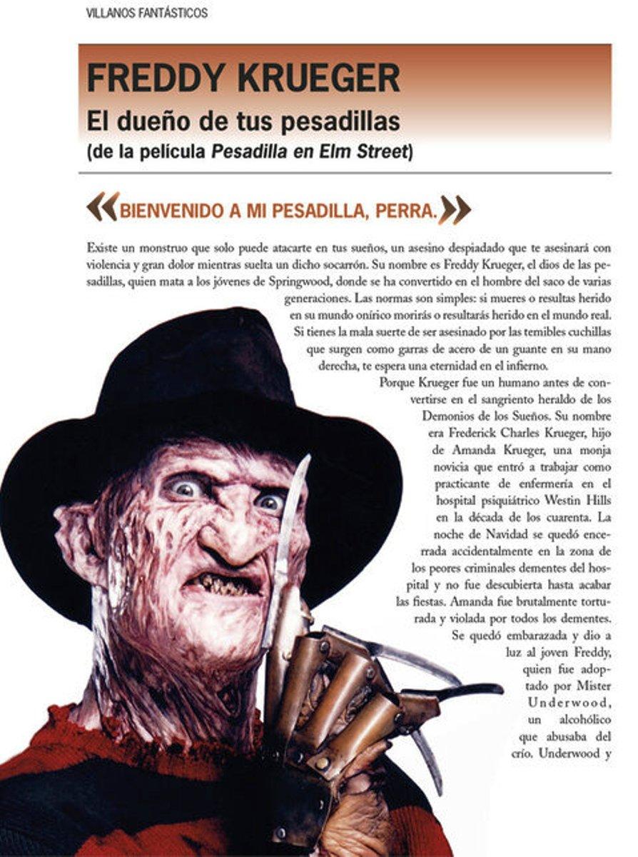 VILLANOS FANTASTICOS . LOS PERSONAJES MAS VILES DE LA HISTORIA EN LA LITERATURA, CINE Y COMICS