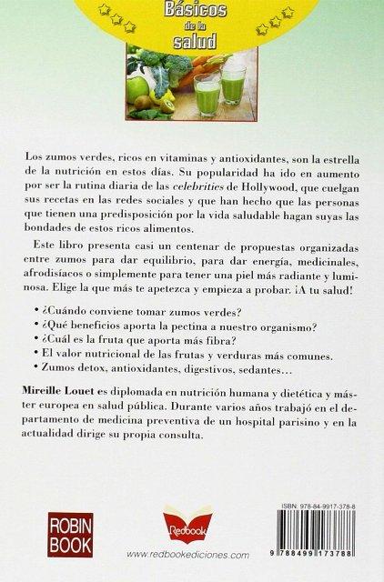 ZUMOS VERDES . BASICOS DE LA SALUD