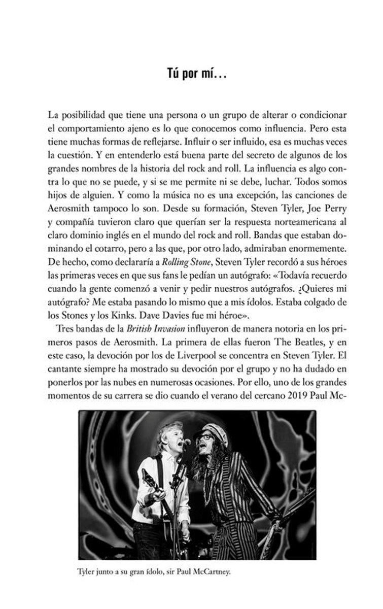 AEROSMITH . LA TURBULENTA HISTORIA DE UNA DE LAS BANDAS MAS ESPECTACULARES DEL ROCK AND ROLL