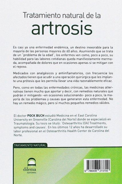 ARTROSIS - TRATAMIENTO NATURAL DE LA