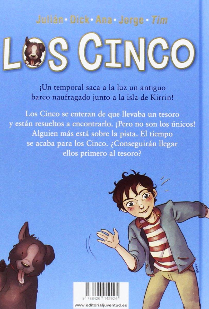 LOS CINCO Y EL TESORO DE LA ISLA (1) (TD)