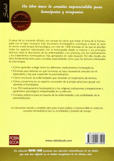 DICCIONARIO DE HOMEOPATIA . MASTERS BEST