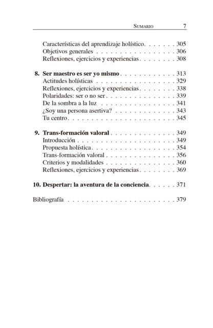EDUCACION HOLISTICA . LA PEDAGOGIA DEL SIGLO XXI