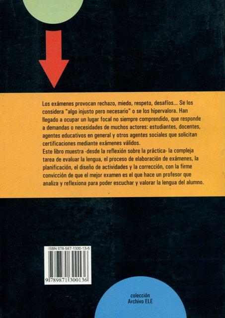LA EVALUACION EN ESPAÑOL LENGUA EXTRANJERA