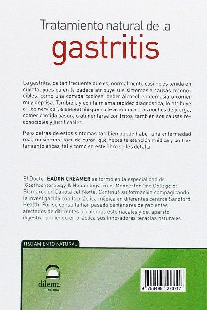 GASTRITIS - TRATAMIENTO NATURAL DE LA