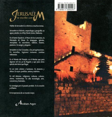 JERUSALEM SE ESCRIBE CON M
